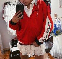 Tommy Hilfiger Sportjacke Trainingsjacke Sweatjacke rot Logo NEU