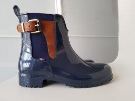 Tommy Hilfiger Botas de agua azul oscuro