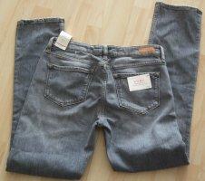 Tommy Hilfiger Jeans a gamba dritta grigio chiaro