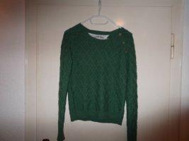 Tommy Hilfiger – Strickpullover – grün – Medium