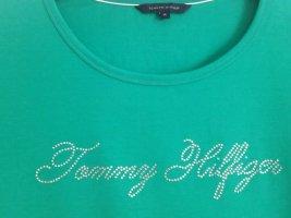 Tommy Hilfiger T-shirt groen Katoen