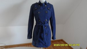 Tommy Hilfiger Übergangs Mantel Trenchcoat Gr. 40 Blau