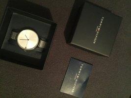 Tommy Hilfiger Reloj con pulsera metálica color plata
