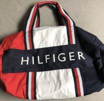 Tommy Hilfiger Weekender Bag white-blue