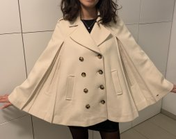 Tommy Hilfiger, Woll Cape in wollweiss, 36