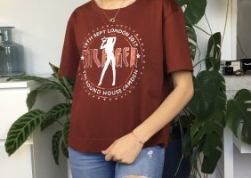 Gigi Hadid x Tommy Hilfiger T-shirt multicolore