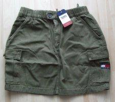 Tommy Jeans Hilfiger Minirock - khaki - Gr. M