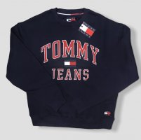 Tommy Jeans Jersey holgados azul oscuro