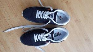 Tommy Jeans Sneaker RETRO TJ, blau-dunkel