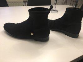 Tommy Hilfiger Wciągane buty za kostkę czarny