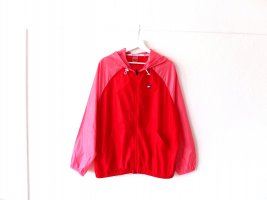 Tommy Sport Coupe-vent rose-rouge