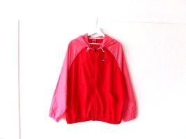 Tommy Sport Giacca a vento rosa-rosso