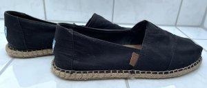 Toms Espadrille sandalen zwart