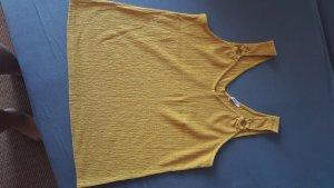 Orsay Top met spaghettibandjes geel-oker