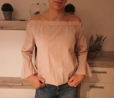 Made in Italy Off the shoulder top roségoud