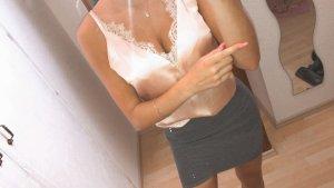 H&M Blouse topje room-nude