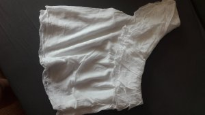 H&M One Shoulder Top white