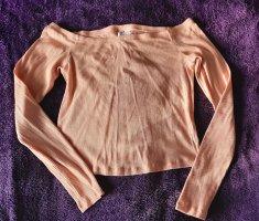 H&M Hauts épaule nues abricot