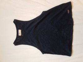 Hollister Rugloze top donkerblauw