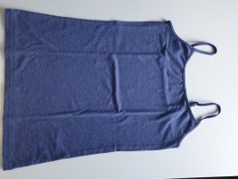 Primark Top con bretelline blu acciaio