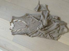 Brunello Cucinelli Blouse Top beige mixture fibre