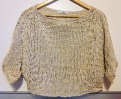 0039 Italy Crochet Top gold-colored