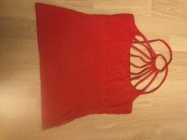 D&C Top monospalla rosso scuro