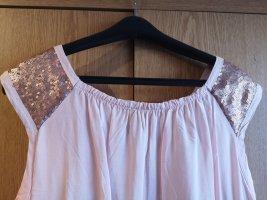 Colloseum Camicetta alla carmen color oro rosa-rosa chiaro