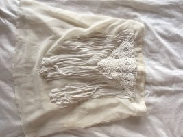 MOODY'S Crochet Top white-natural white