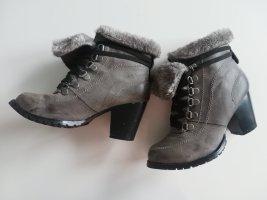 studio W Winter Booties black leather