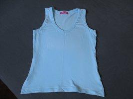 Apriori Basic Top turquoise cotton