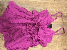 H&M Ribbed Shirt purple