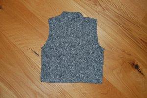 Pimkie Top basic grigio Tessuto misto