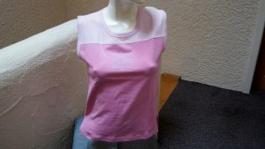 #Top, #pink-rosa, Gr. 40, #plastische Zahl aus Filz, #Stretch, #Herzblut, #Markenmode, #hochwertig