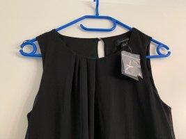 Top schwarz Bluse Gr. 36 Party oberteil neu mit Etikett