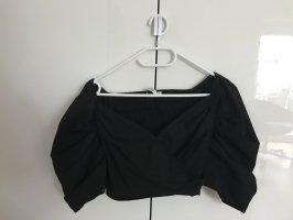 Nakd Carmen blouse zwart