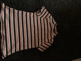 Primark Top con colletto arrotolato multicolore