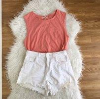 Top von Zara in Gr L- Apricot Nude - Organic Cotton Sommer