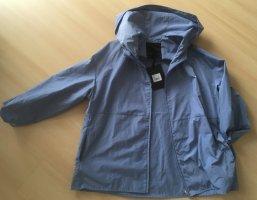HOX Kurtka oversize błękitny Tkanina z mieszanych włókien
