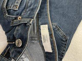 Topshop High Waist Skinny Jamie Jeans in 26/32 dunkel blau