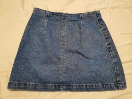 TopShop Jeansrock Minirock blau Gr. 34