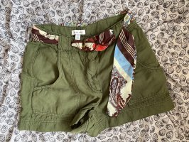 Topshop Shorts forest green