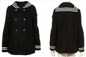 Topshop Wollmantel Sailorcoat