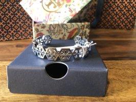 Tory Burch Bracelet de bras argenté