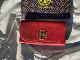 Tory Burch Portefeuille rouge cuir