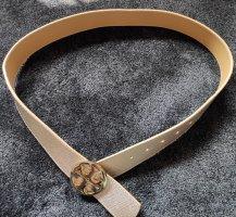 Tory Burch Reversible Belt gold-colored-beige