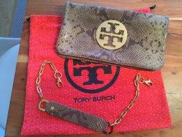 Tory Burch Schlangen Optik Clutch
