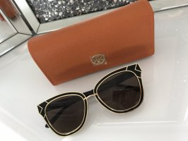 Tory Burch Butterfly Glasses black-gold-colored