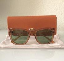 Tory Burch Glasses khaki-light orange