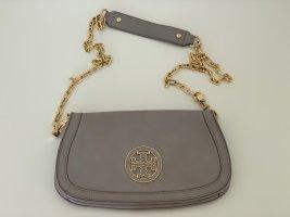 Tory Burch Tasche Grau Gold